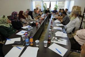 مؤسسات جنين تنظم ورشة عمل حول قانون العمل الفلسطيني